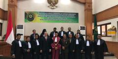 Pengambilan Sumpah Advokat Pengadilan Tinggi Bali